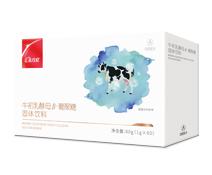 航天神舟牌牛初乳酵母β-葡聚糖固体饮料 60g(1g×60)/盒